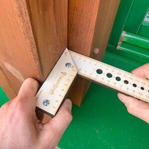 Kątownik drewniany 200x120 mm KONKO-3