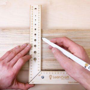 Kątownik drewniany 300x180 mm KONKO-3